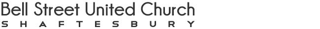 BELL STREET UNITED CHURCH